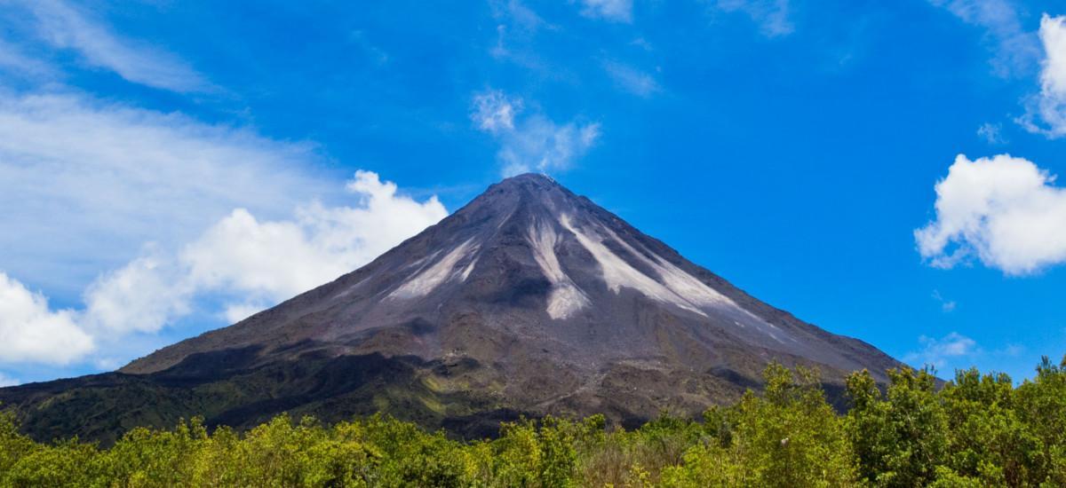 Der Vulkan Arenal.