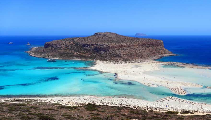 Balos Beach aus Kreta