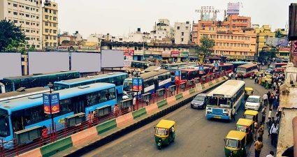 Verkehr in Bagalore