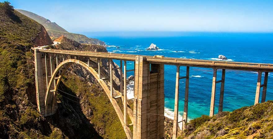 Bixby Bridge in den USA
