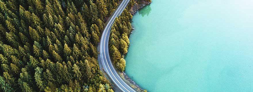 Mit dem Mietwagen durch die USA, Diablo Lake