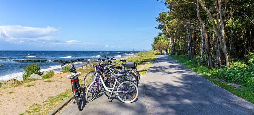 Radtour an der Ostsee