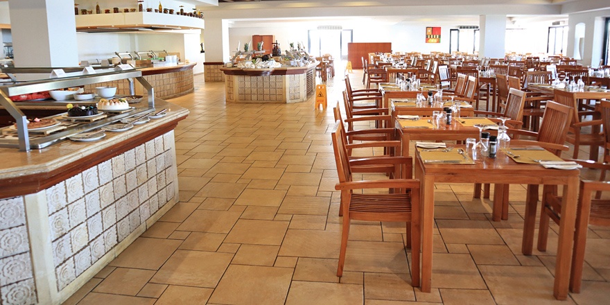 Buffetrestaurant im Ramla Bay Resort auf Malta