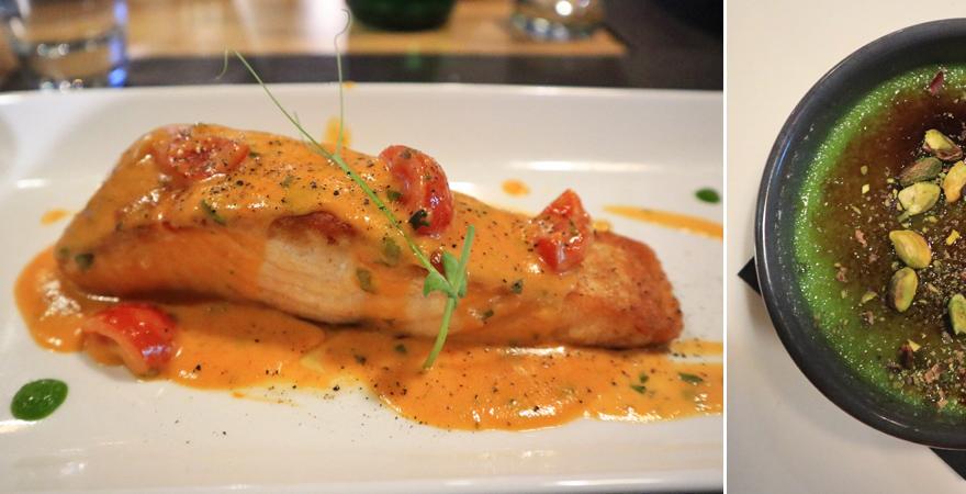 Dinner in der Panorama Bar, Valletta