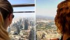 Ausblick von Burj Khalifa