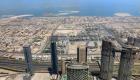 Skyline von Dubai mit Meerblick