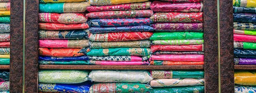 Shopping in Dubai, Stoffe