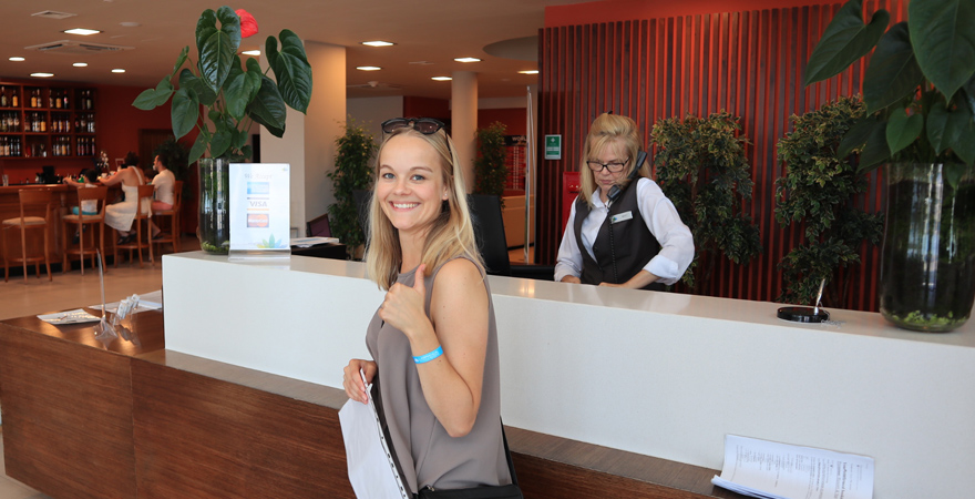 Empfang im LABRANDA Riviera Premium Resort & Spa