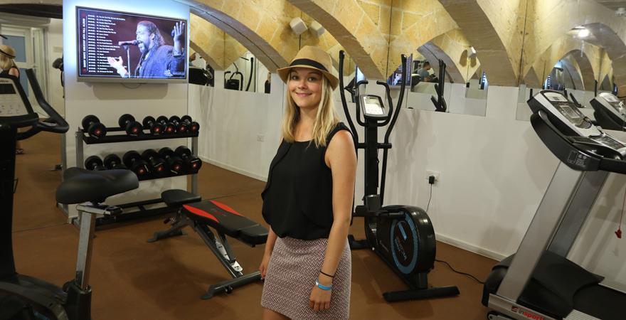 Fitnessraum des Hotels Osborne in Valletta