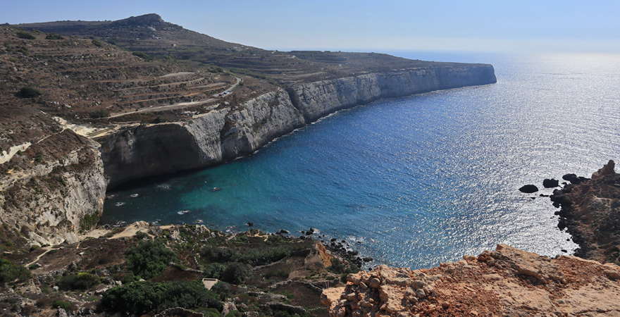 Fomm ir-Rih Bay auf Malta