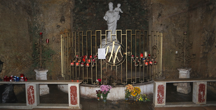 Höhlenkapelle Il-Madonna tal-Ghar, Mellieha
