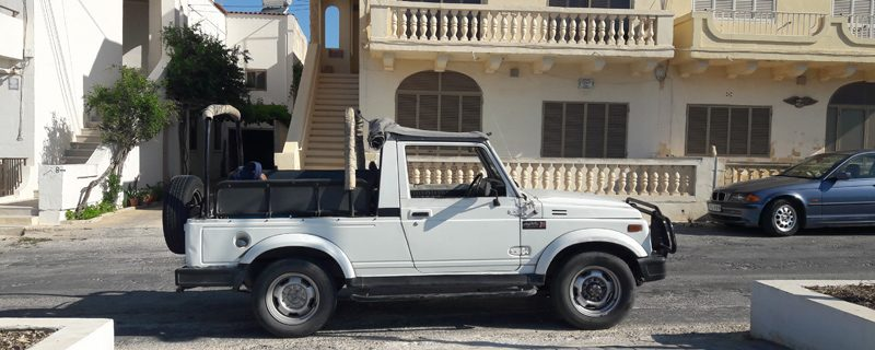 Jeep-Safari auf Gozo, Malta