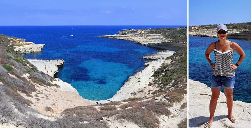 Ein wunderschöner Strand-Spot: die Bucht von Kalanka auf Malta
