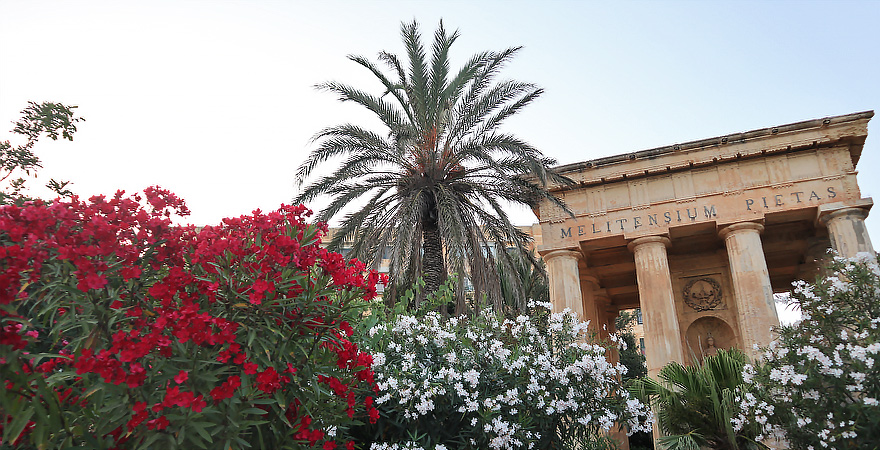 Lower Barakka Gardens, Valletta, Malta