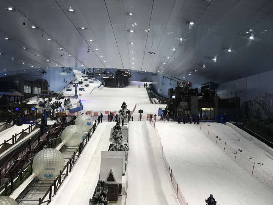 Mall of Emirates Skihalle