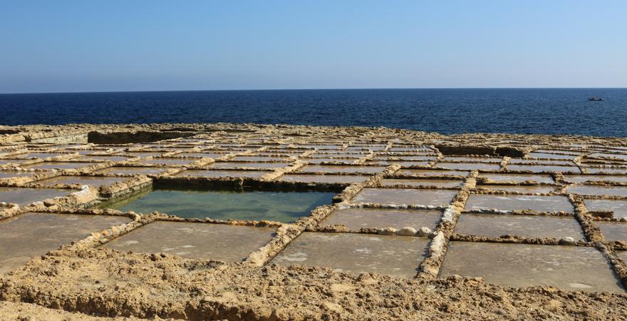 Salzterrassen Gozo