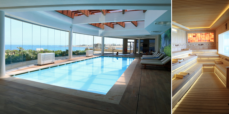 Spa-Bereich im Ramla Bay Resort auf Malta