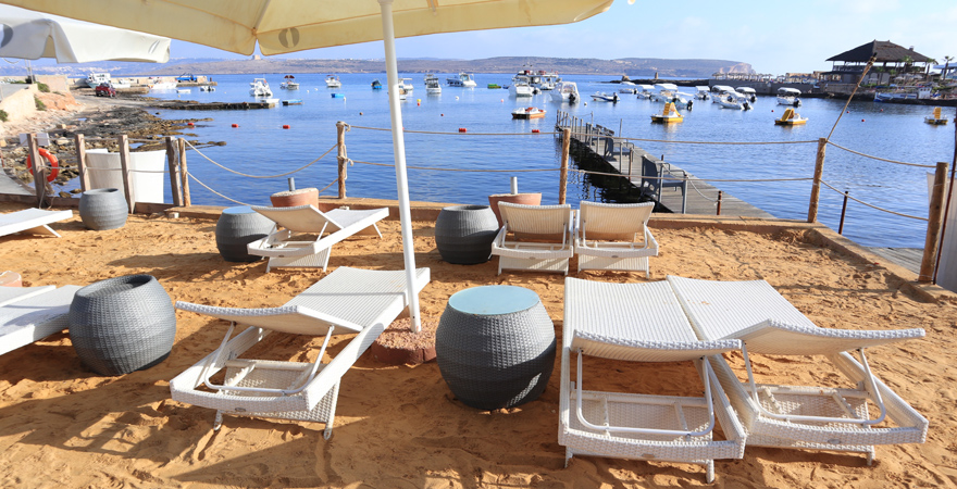 Strand des LABRANDA Riviera Premium Resorts auf Malta