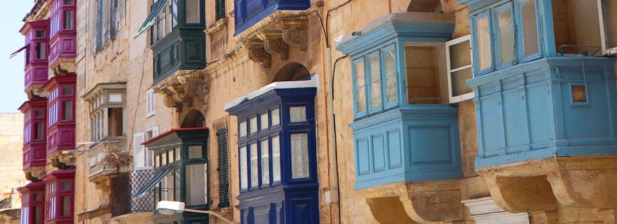 Gebäude, Valletta