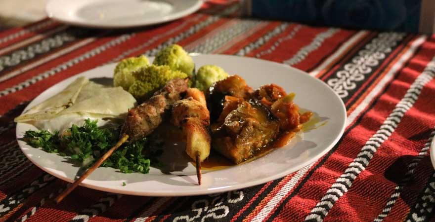 BBQ auf einer Wüstesafari in Ras Al Khaimah