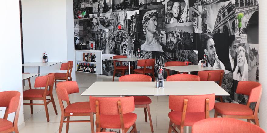 Italienisches Restaurant im Ramla Bay Resort, Malta