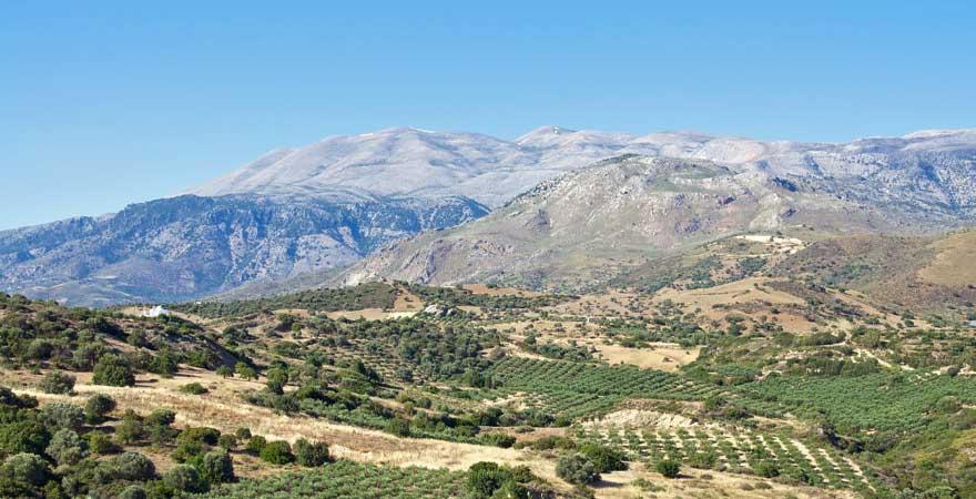 Psiloritis Gebirgen auf Kreta