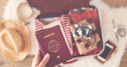 Der Reisepass darf im Urlaubsgepäck nicht fehlen