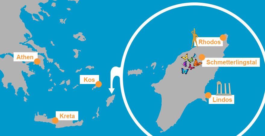 Karte Rhodos Urlaub.Urlaubstipps Rhodos Fti Reiseblog