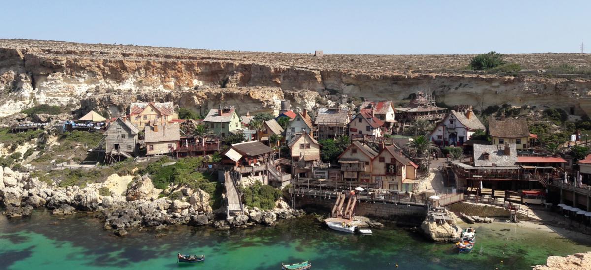 Kleines Fischerdörfchen - in der Nähe von Mellieha - Malta