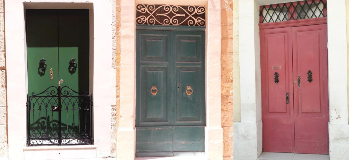 Maltas Türen - einfach einzigartig - wie ihre Bewohner
