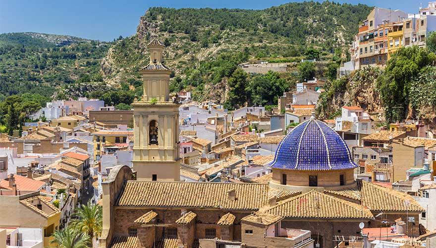Bunol in Spanien