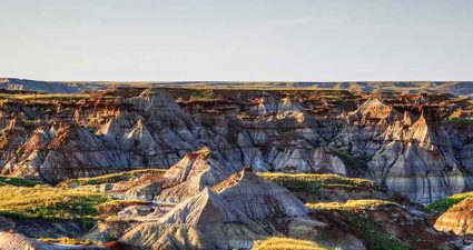 Badland in Drumheller
