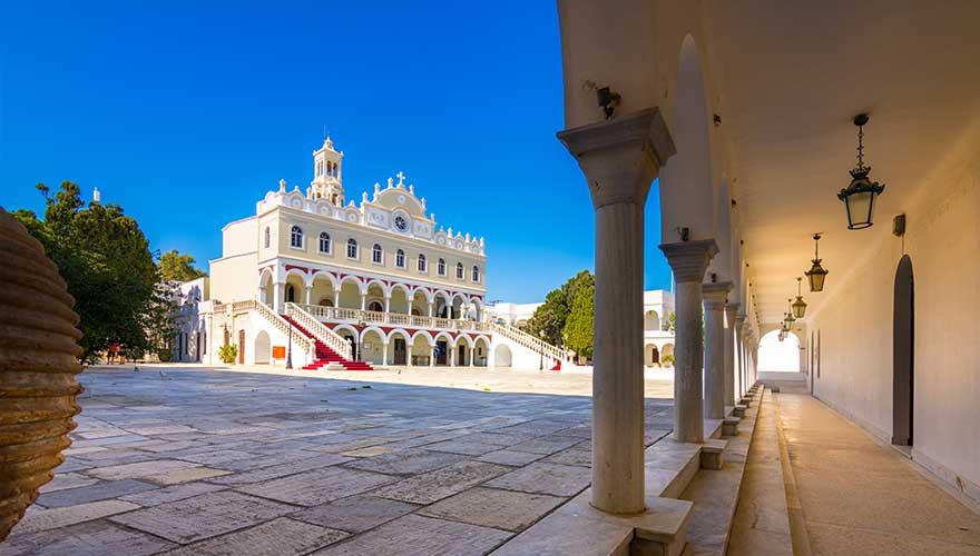 Kirche auf der griechischen Insel Tinos