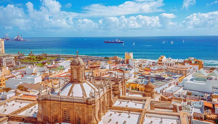 las Palmas auf Gran Canaria
