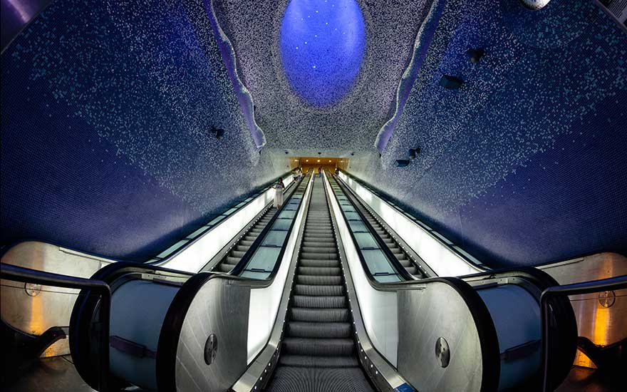 U-Bahnstation Toledo