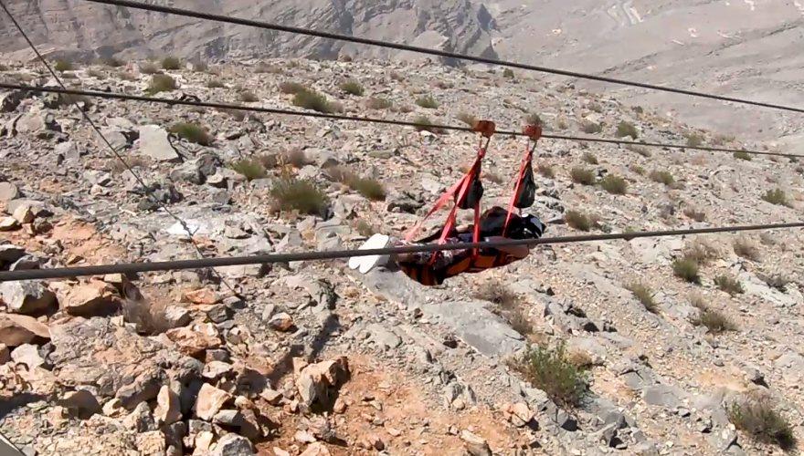 Zipline in den Vereinigten Arabischen Emiraten