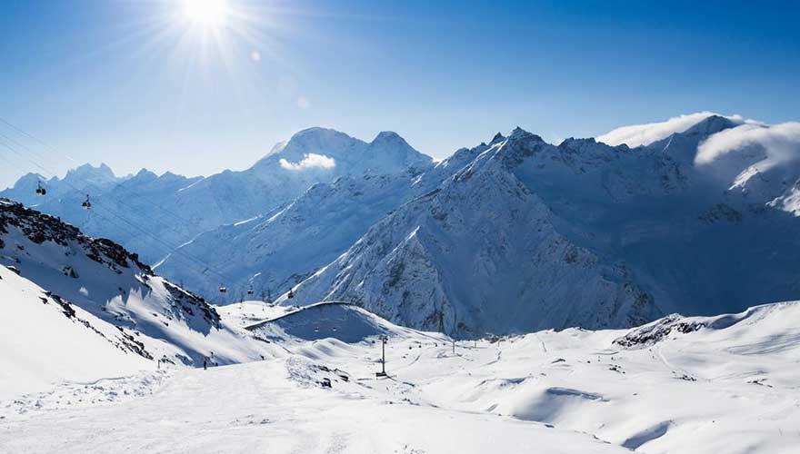 Skigebiet in Deutschland