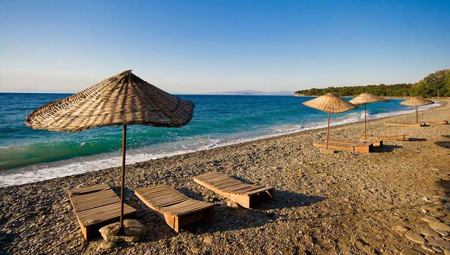 Strand in Marmaris