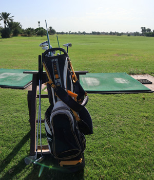 Golfbag, Golfkurs, Palm Golf, Marrakesch