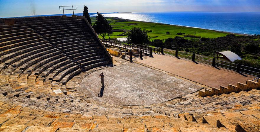 Amphitheater auf Zypern