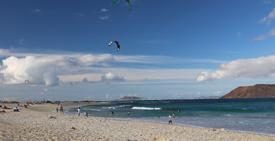 Flagbeach auf Fuerteventura