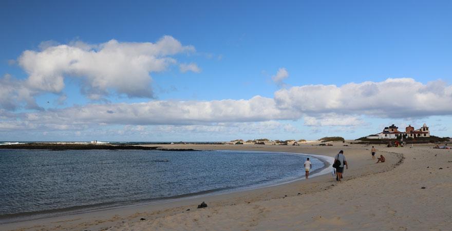 La Concha Strand auf Fuerteventura