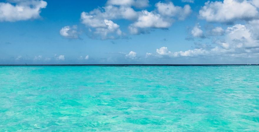 Saona, karibische Badewanne