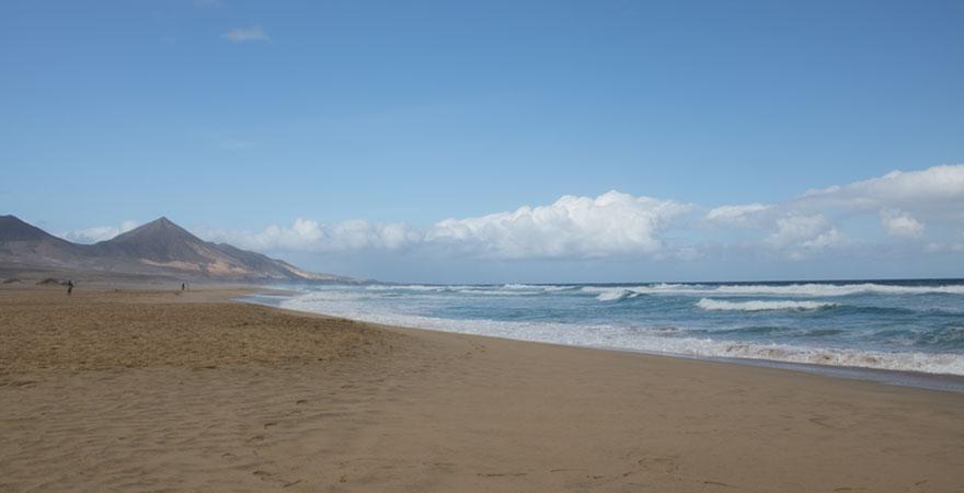 Strand Cofete auf Fuerteventura