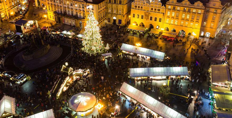 weihnachtsmark in Prag