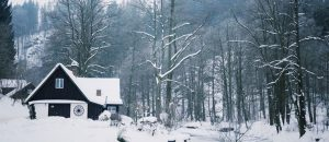 Winterlandschaft in Tschechie