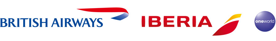 Logos von Iberia und British Airways
