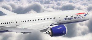 Flugzeug British Airways