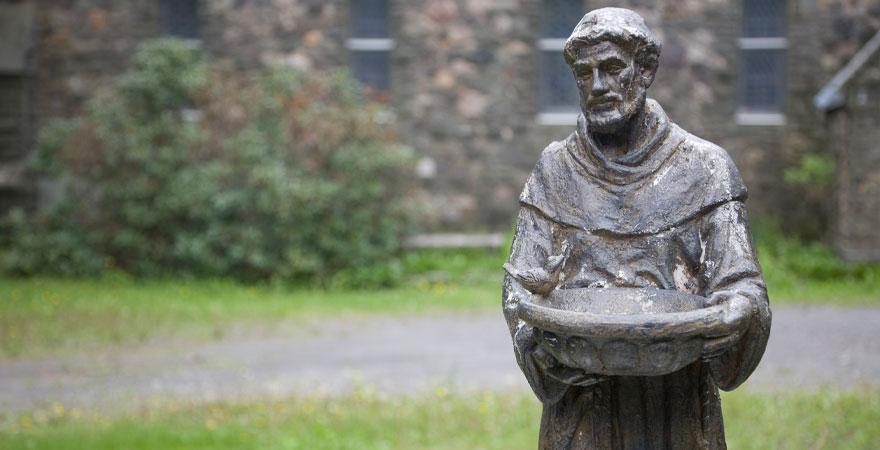 Statue Franz von Assisi