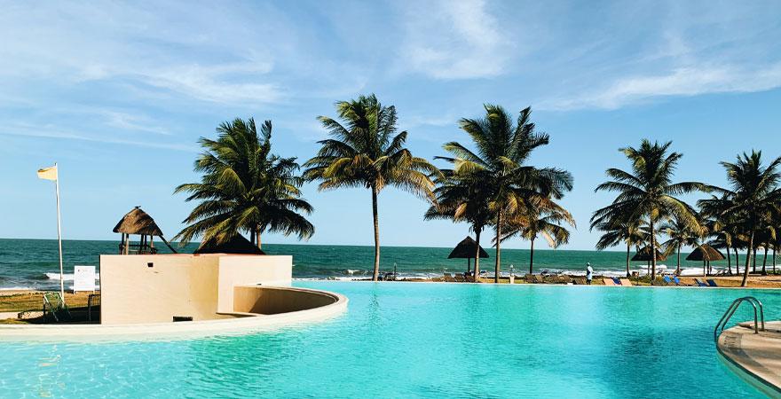 Infinity Pool im Labranda Coral Beach